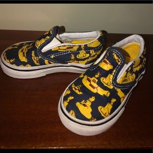 Youth Beatles Yellow Submarine Vans